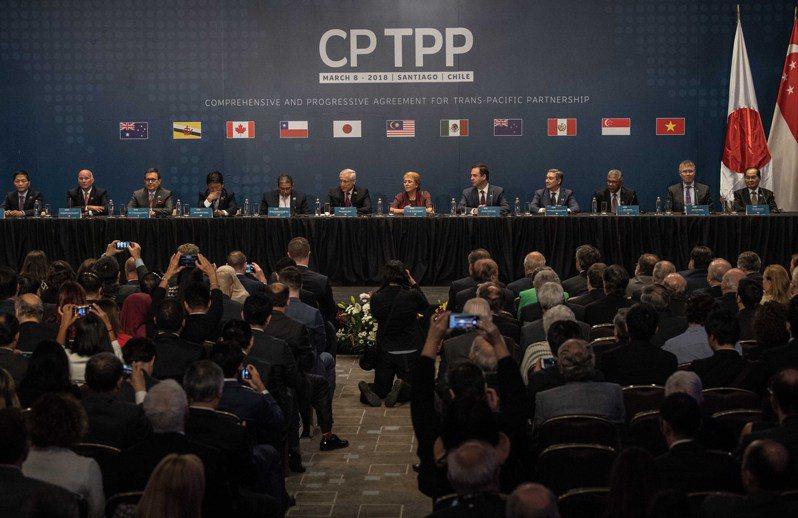 圖為2018年3月智利等11國簽署CPTPP。(新華社資料照片)