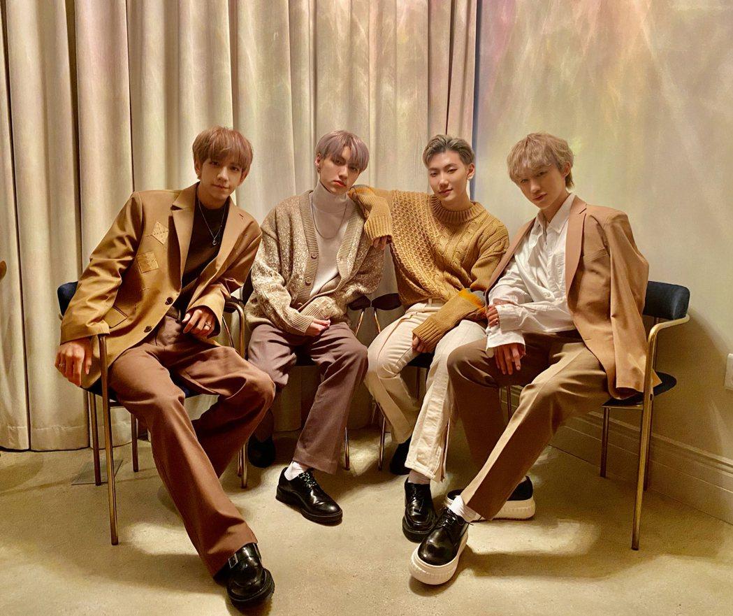 男團C.T.O正式在韓國出道。圖/創造力娛樂提供
