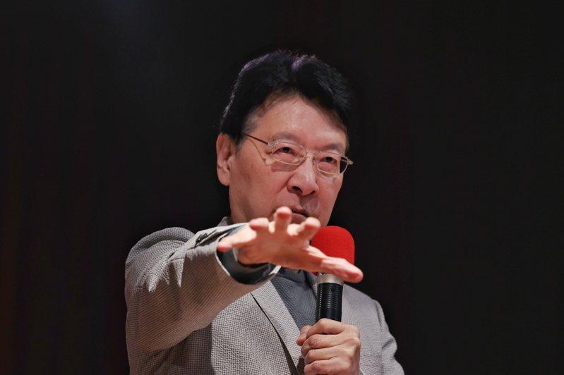 中廣董事長趙少康。記者曾原信/攝影