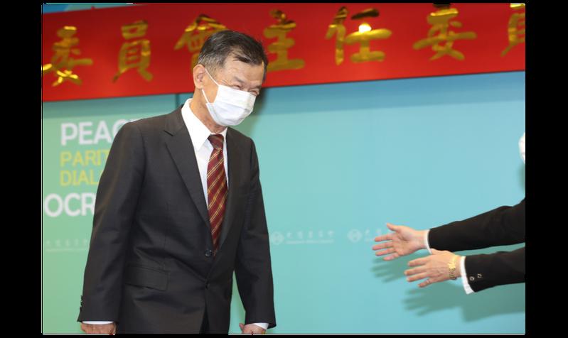 陸委會新任主委邱太三。聯合報系資料照