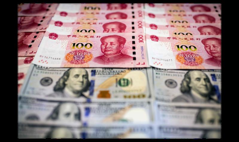 中國外匯投資研究院獨立經濟學家譚雅玲認為,人民幣匯率安全須警鐘長鳴。法新社
