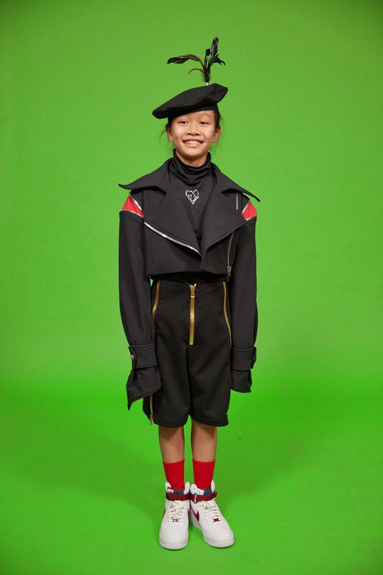 JENN LEE在秋冬發表也有童裝表現「人林合一」的世界。圖/JENN LEE提...