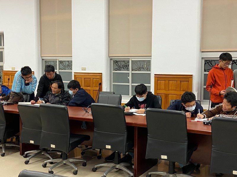 台南一中今年學測數理成績優,11人4科滿級分、51人數學滿級分。本報資料照片
