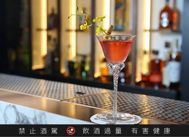 Bar Mood Taipei於虎三同推出8款特色調酒,均為350元。記者陳睿中...