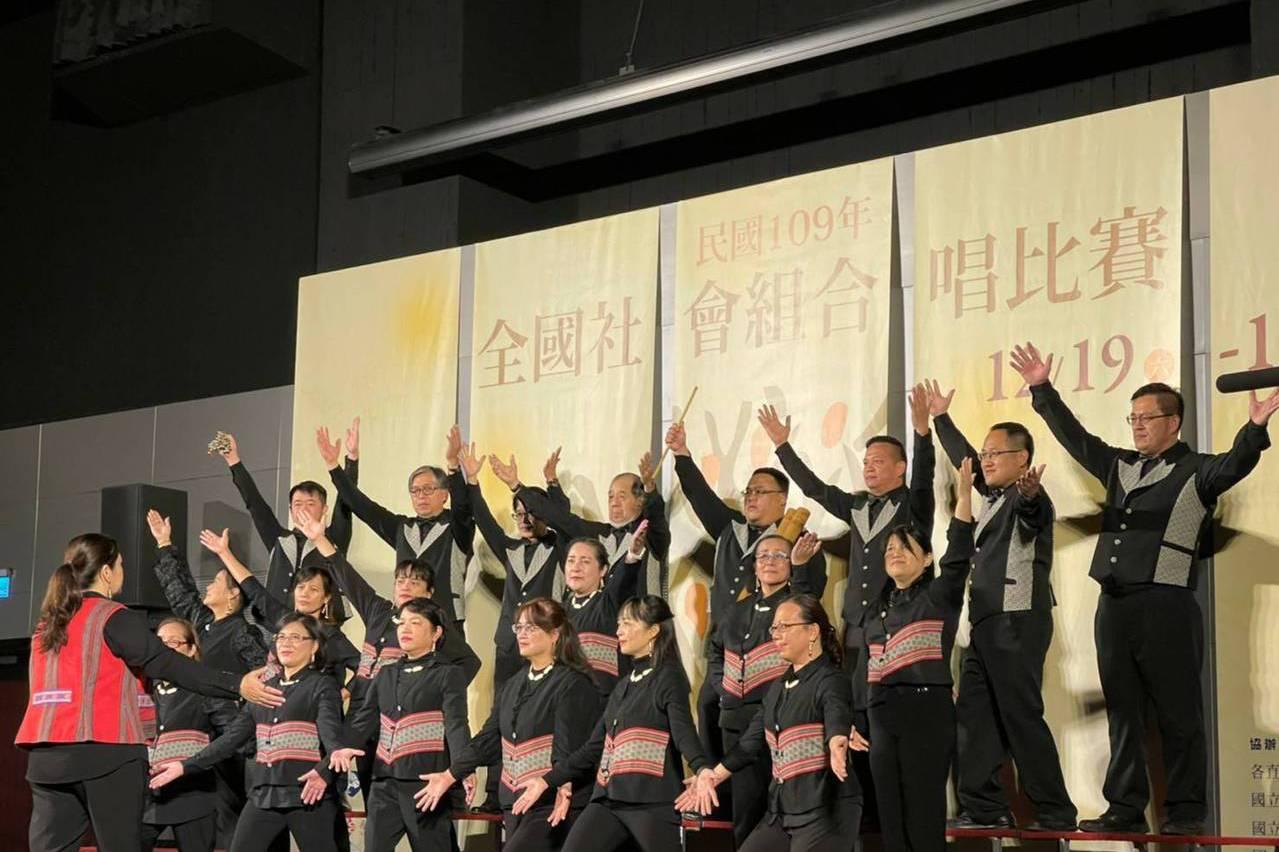 竹縣泰雅之聲合唱團 抱回全國合唱比賽2金質獎20萬獎金