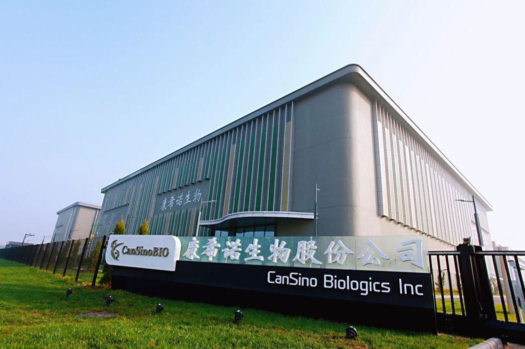 大陸康希諾生物股份公司宣布,其新冠疫苗附條件上市申請已獲大陸國家藥監局受理。(取...