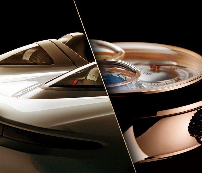 芝柏(Girard Perregaux)的商標將於2021年F1TM賽季巴林站開始,出現在Aston Martin的F1車隊賽車上,在賽道上、手腕上,同步展現機械魅力。圖 / 芝柏表提供。