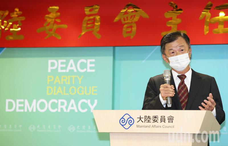 新任主委邱太三昨日表示,中國大陸九二共識做新註解,讓台灣民眾無法接受。記者潘俊宏/攝影