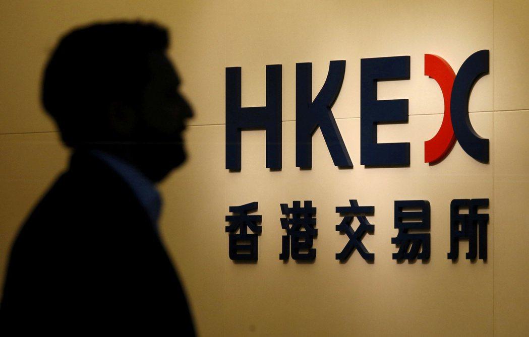 香港交易所去年淨利高達港幣115億元。路透