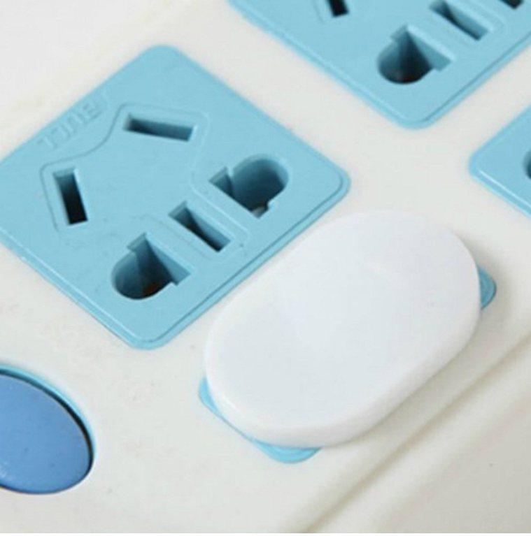 家中插座孔如不使用,建議使用「插座安全墊片」,防止幼童不慎觸電受傷。 圖/翻攝u...
