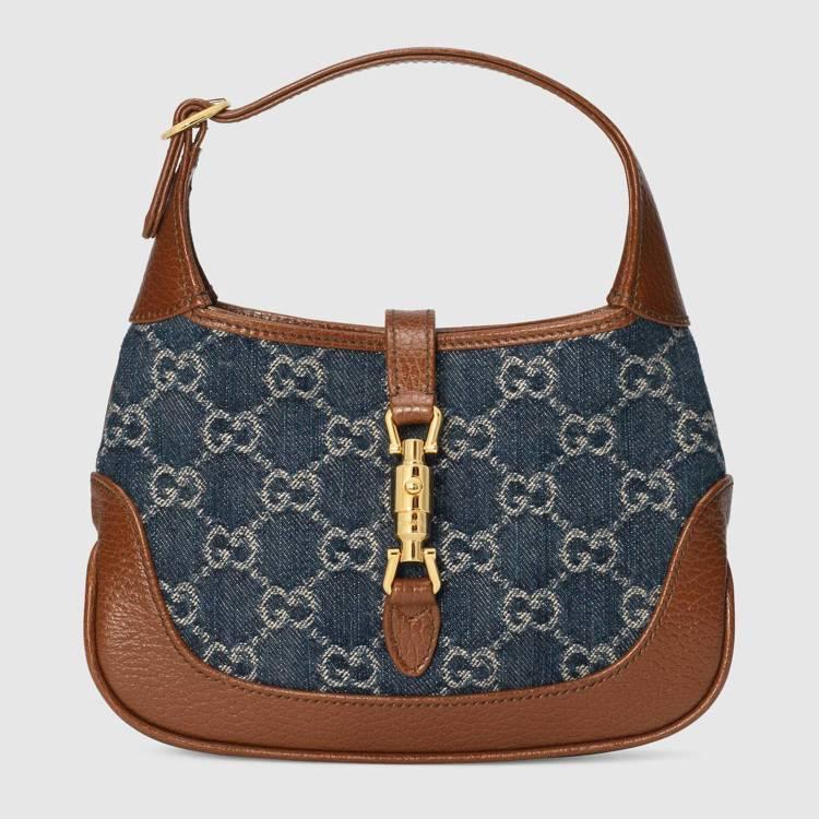 Jackie 1961丹寧迷你包,59,500元。圖/Gucci提供