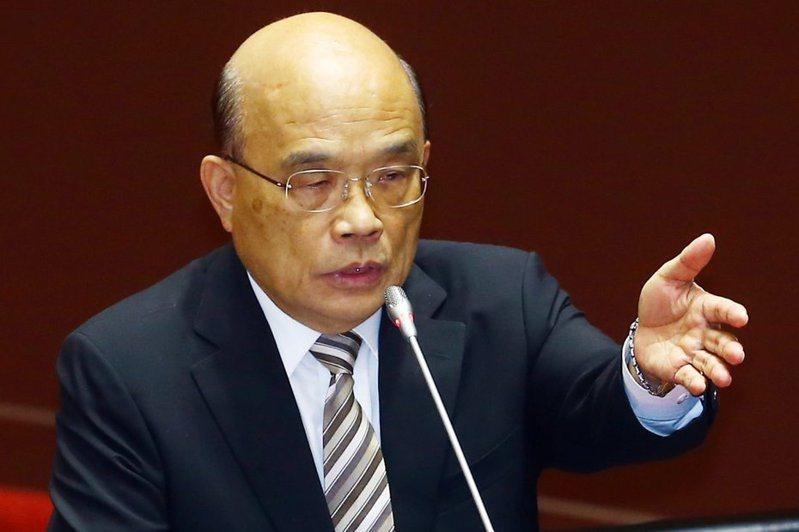 行政院長蘇貞昌再度「整頓」國營事業。本報資料照片