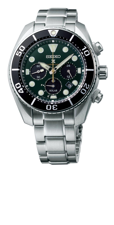 Seiko Prospex系列140周年紀念款SSC807J1腕表,精鋼表殼、表...