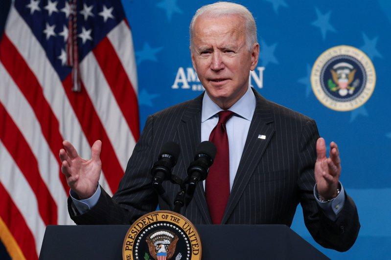 美國總統拜登預料24日將簽署行政命令,開始檢討晶片供應鏈。  路透
