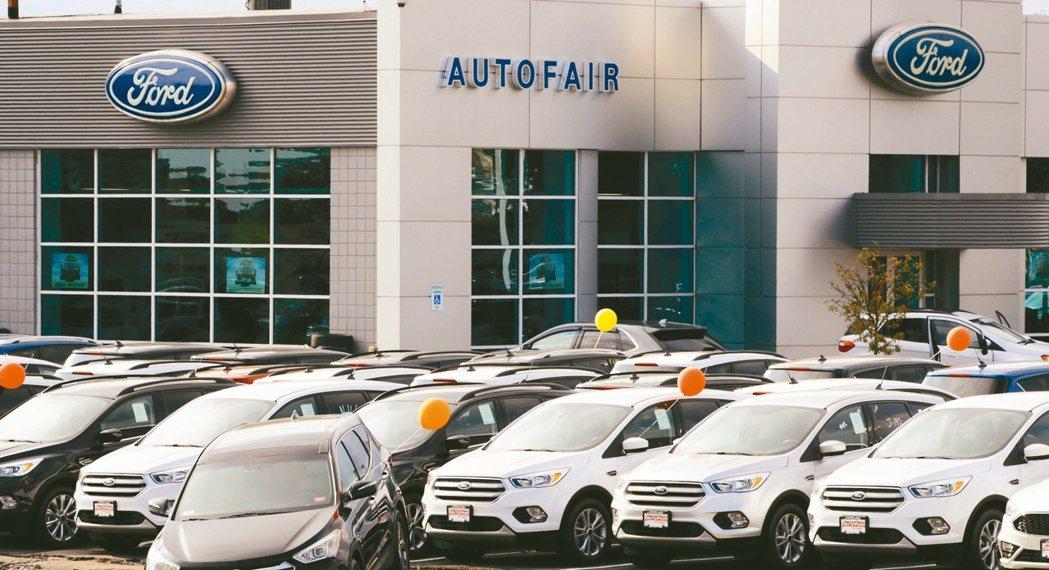 美國元月車市受疫情等因素影響,新車銷量年減約5%。展望今年,法人機構指出,因低基...