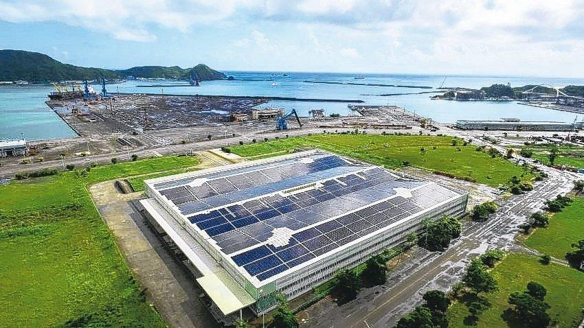 宜蘭蘇澳臺灣港務公司2MW系統。能源局/提供