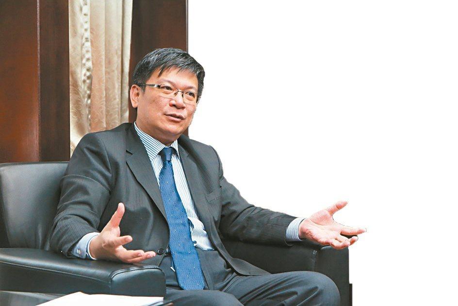 經濟部政務次長曾文生。劉靜君/攝影