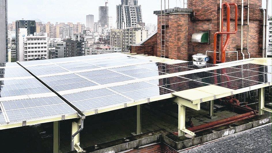 臺北市信義新城社區推動公民電廠。經濟部能源局/提供