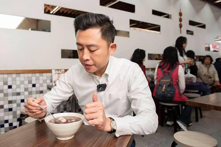 林智堅推薦新竹的「光華冰菓店」。圖/取自林智堅粉絲頁留言