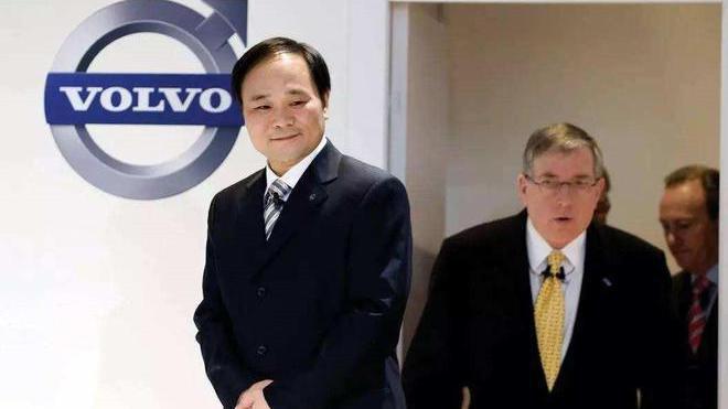 大陸吉利控股集團24日宣布,與富豪汽車(Volvo)合併。(圖/取自新浪網)