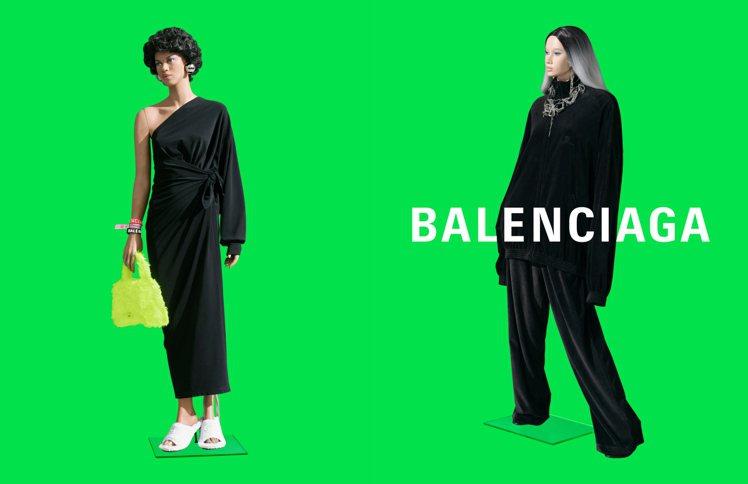 Balenciaga夏季21 Pre-collection系列成衣及配飾廣告大片...