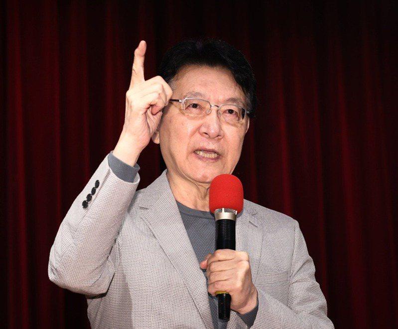 中廣董事長趙少康。記者曾原信攝影/本報資料照片。