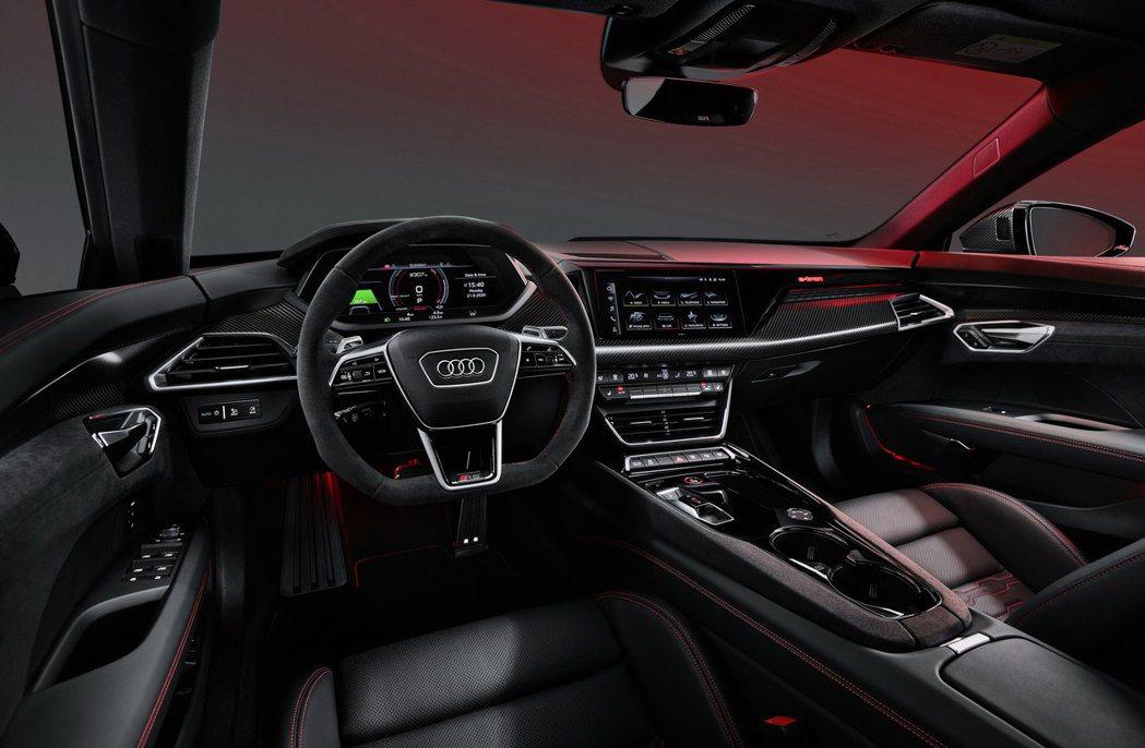 Audi RS e-tron GT內裝。 摘自Audi