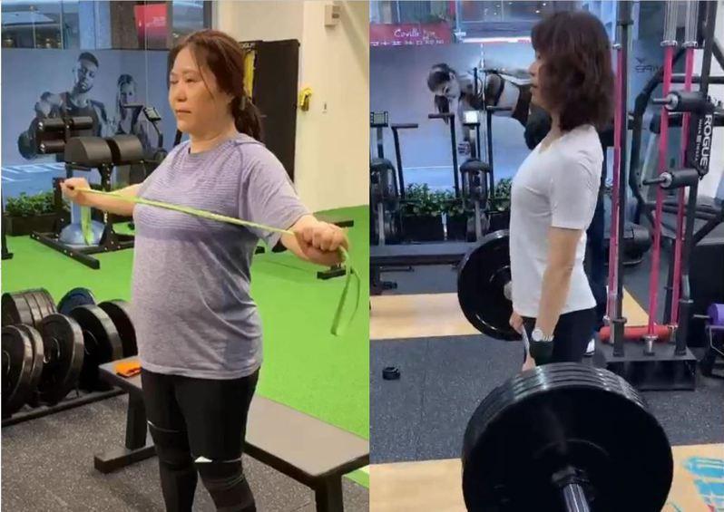 張庭儒花5個月找回窈窕的自己,秘訣就是「正常吃、認真運動」圖片由張庭儒授權「有肌勵」刊登