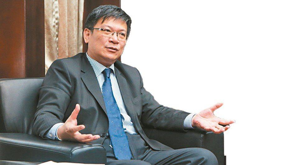 經濟部政務次長曾文生。 劉靜君/攝影