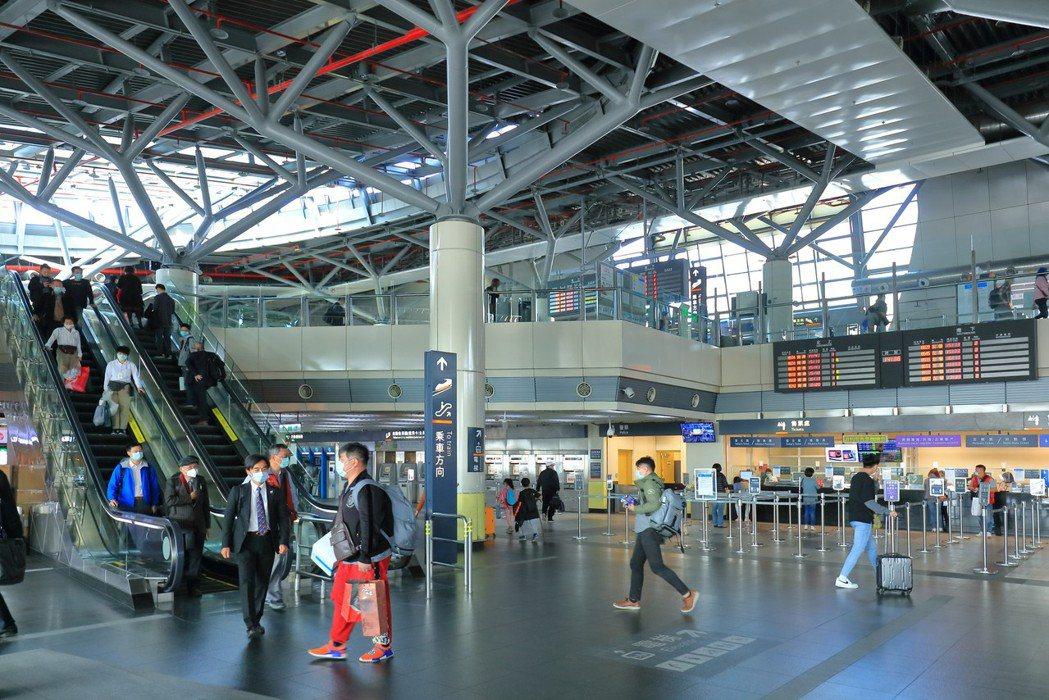 高鐵台南站每年有近800萬通勤人次,對於商圈成形是一大助力。 業者/提供