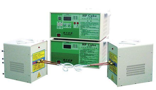 大憲研發成功高頻機(HP-CUBE50TT/8025),擁有兩個感應頭及兩個線圈...