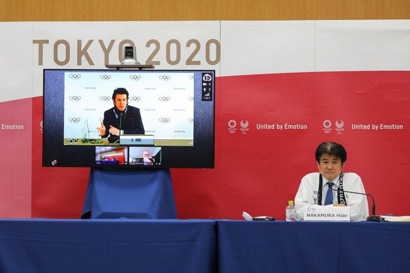 國際奧會(IOC)昨天召開線上理事會,IOC執行長杜比(Christophe Dubi)在會後記者會上表示,東奧是否開放外國觀眾,在4月底判斷應是適當時期。 歐新社
