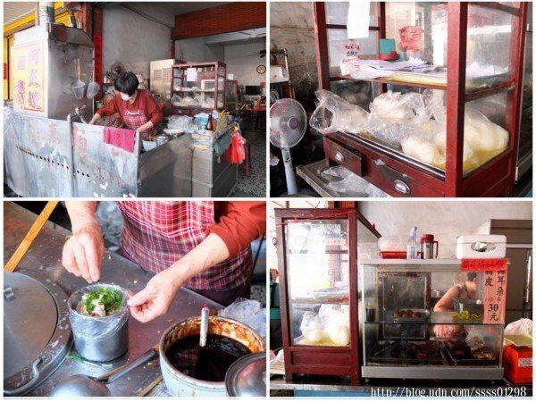 走進店門口就是店家的料理區,充滿在地情感的傳統麵攤,歷史氛圍濃厚