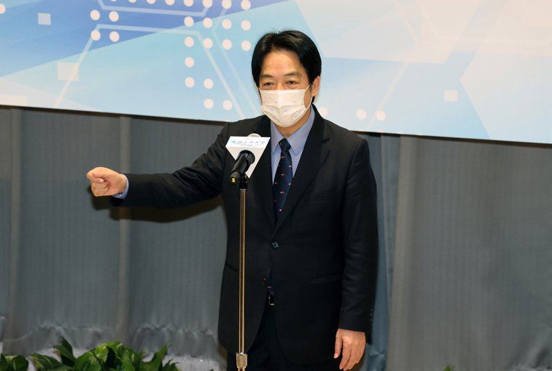 副總統賴清德。 聯合報資料照片 記者蘇健忠/攝影
