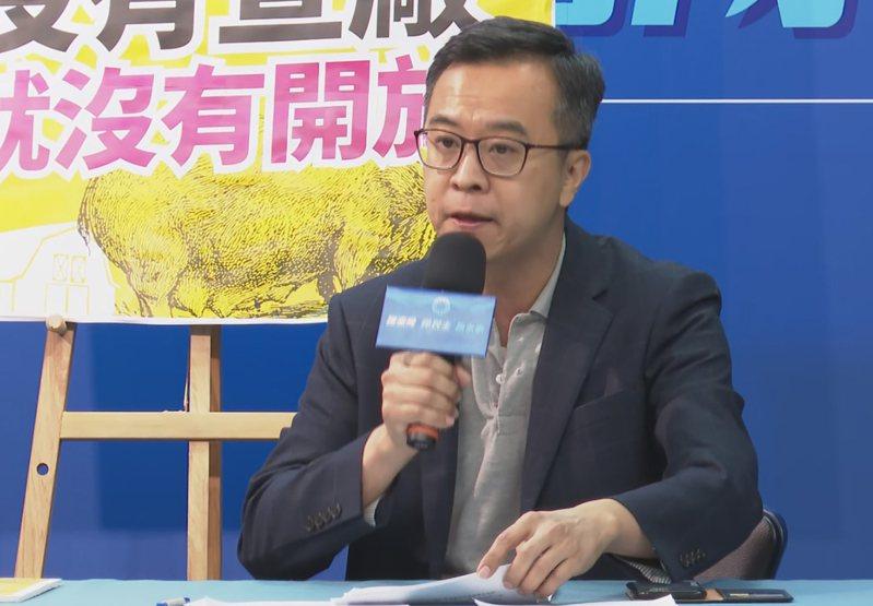 國民黨文傳會副主委黃子哲。 聯合報系資料照片/記者陳煜彬攝影