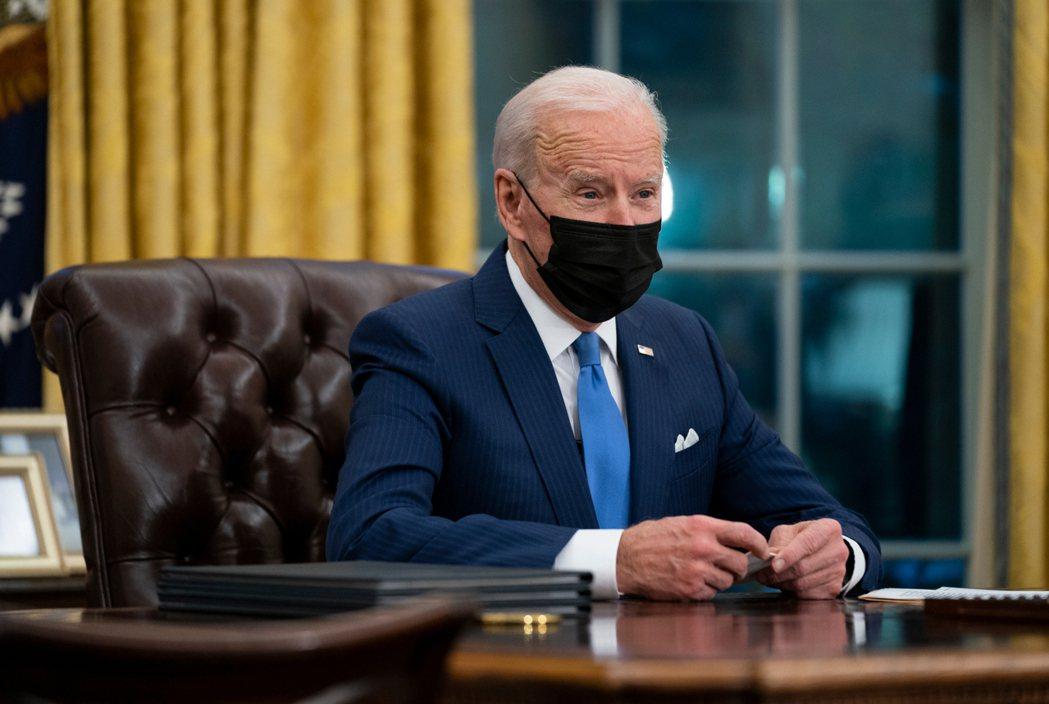 美國總統拜登。 (美聯社資料照片)