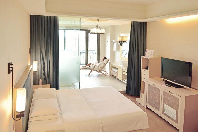 迎接228假期,有飯店推「加時不加價」策略吸客。圖/義大皇家酒店提供