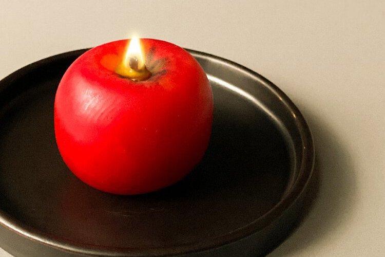 RAW主廚江振誠精選 青森手工蘋果蠟燭首度輸出海外