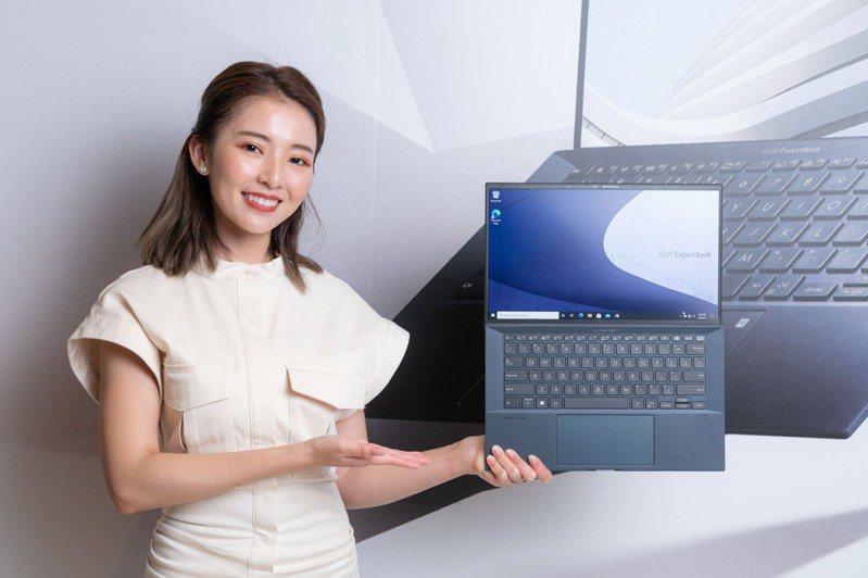「世界最輕14吋商用筆記型電腦」ASUS ExpertBook B9系列推出後好評不斷。 圖/華碩提供