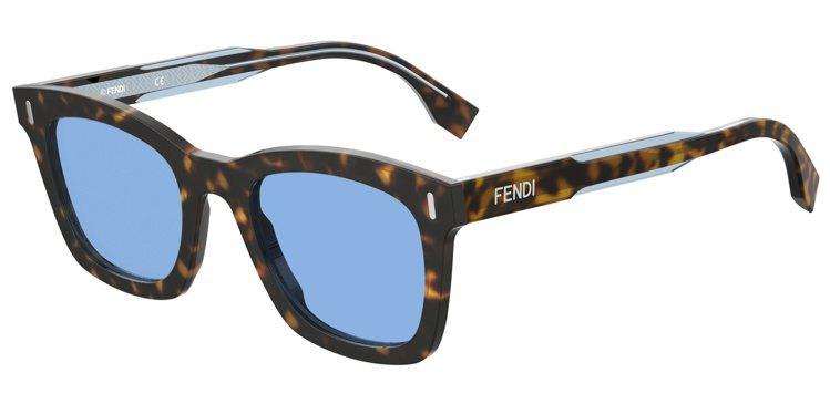 男款FENDI FORCE太陽眼鏡10,440元。圖/Fendi提供