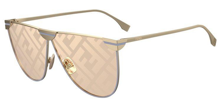 女款FENDI SHADES太陽眼鏡15,660元。圖/Fendi提供