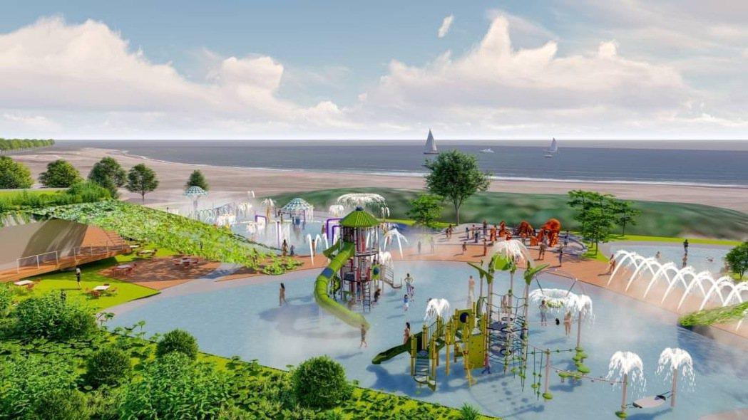 南山人壽將投資21億在淡水沙崙打造文創沙龍,除展演區外,還會有千坪的戶外親水設施...