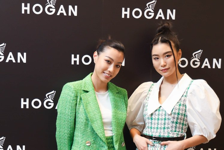 HOGAN春夏新品發表會邀請到星二代游宇潼和蘇湘涵(Bella)示範最新鞋款,大...