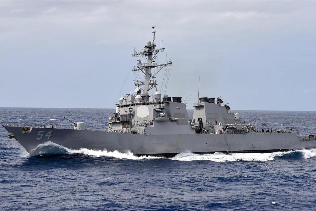 美國海軍「威爾伯號」導彈驅逐艦。(美海軍官網)