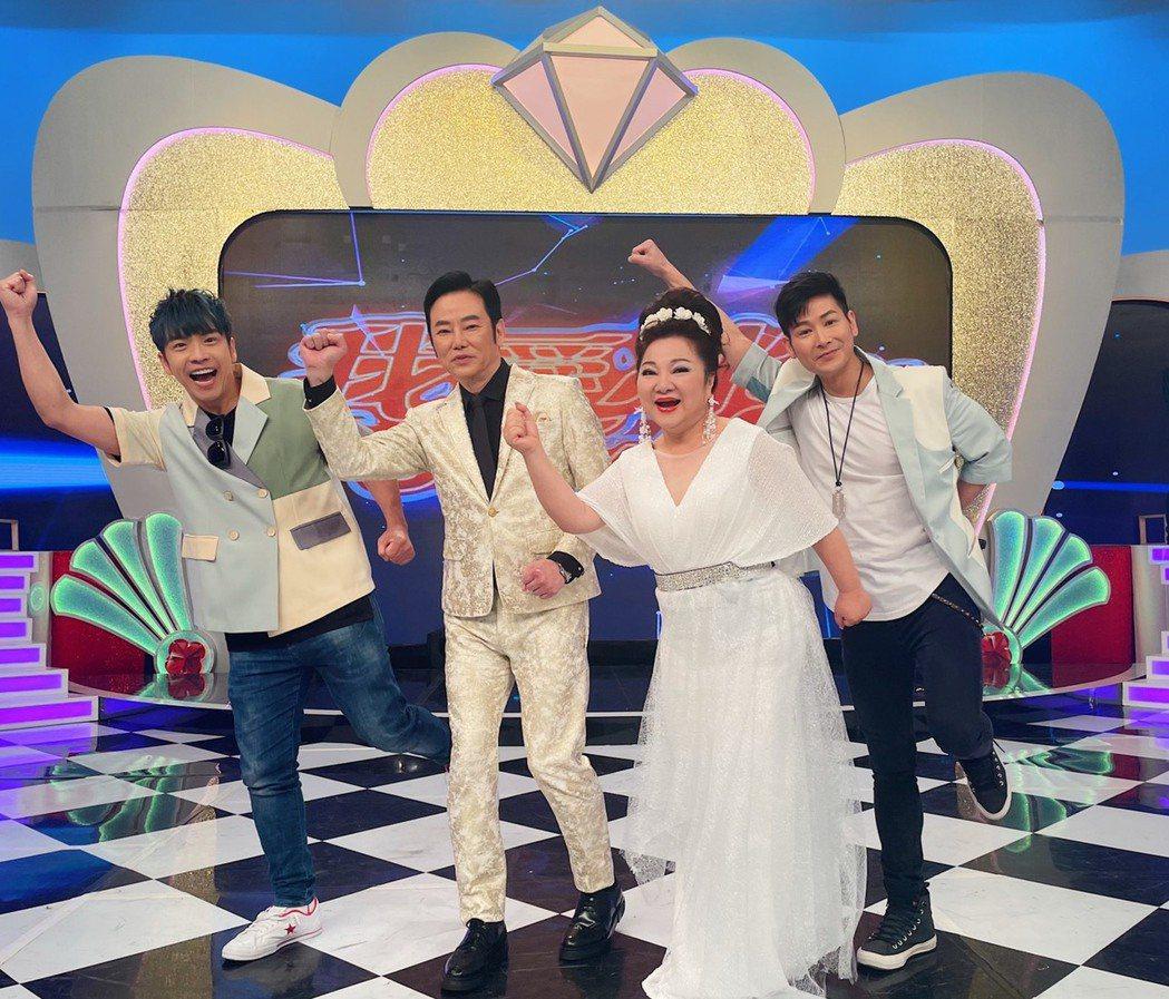中視「我愛冰冰Show」上週六收視破新高。圖/中視提供