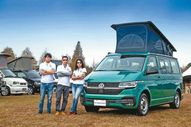 福斯商旅結合全台最大露營活動「Camp de Amigo」發表上市T6.1 Ca...