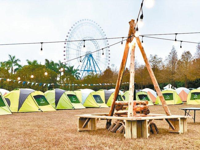 利用后里最夯的麗寶樂園露營區與全台最大露營年度大會師結合,福斯商旅發表全新世代T...