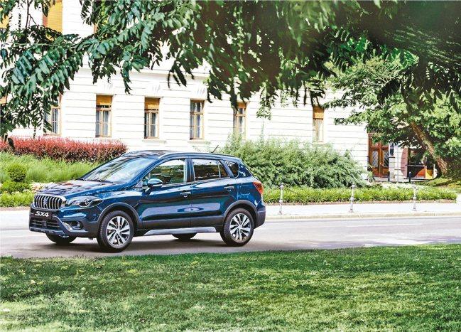 跨界休旅SX4向以結合優雅的歐式設計與SUV剽悍外型,在市場上相當受到歡迎。圖/...