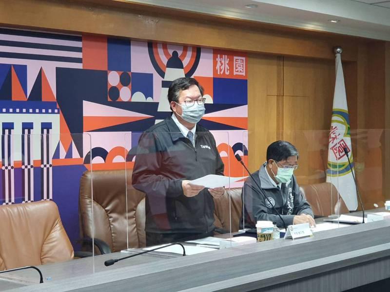 桃園市長鄭文燦宣布,明起探病回歸中央規定,但醫院要提升掌握院內足跡。記者陳夢茹/攝影