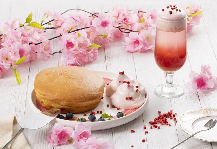 微兜.petit doux新推出的花季春色瓦帕鬆餅、春浪漫水果啵啵,增添滿滿春意...